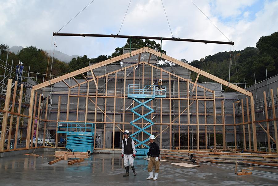 大型製材工場 佐賀県